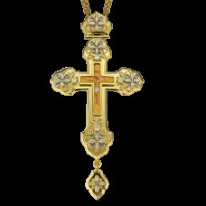 Крест наперсный латунный 2.10.0104ЛП-21ЛП
