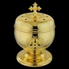 Чашечка для хранения просфор латунная (просфорница) аг-2.7.0449ЛП