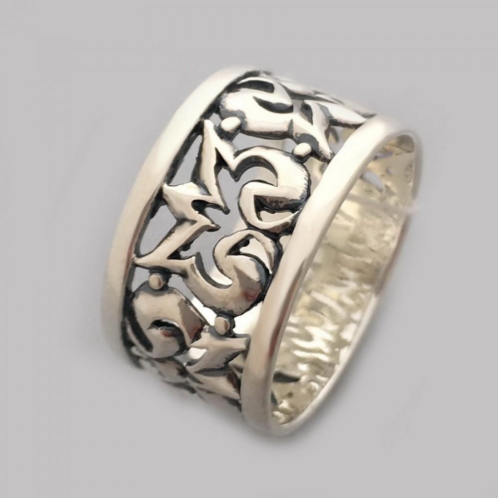 Серебряное кольцо бр-0059721