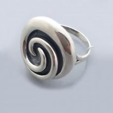 Срібна каблучка без каменів бр-0061521