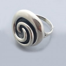 Серебряное кольцо без камней бр-0061521