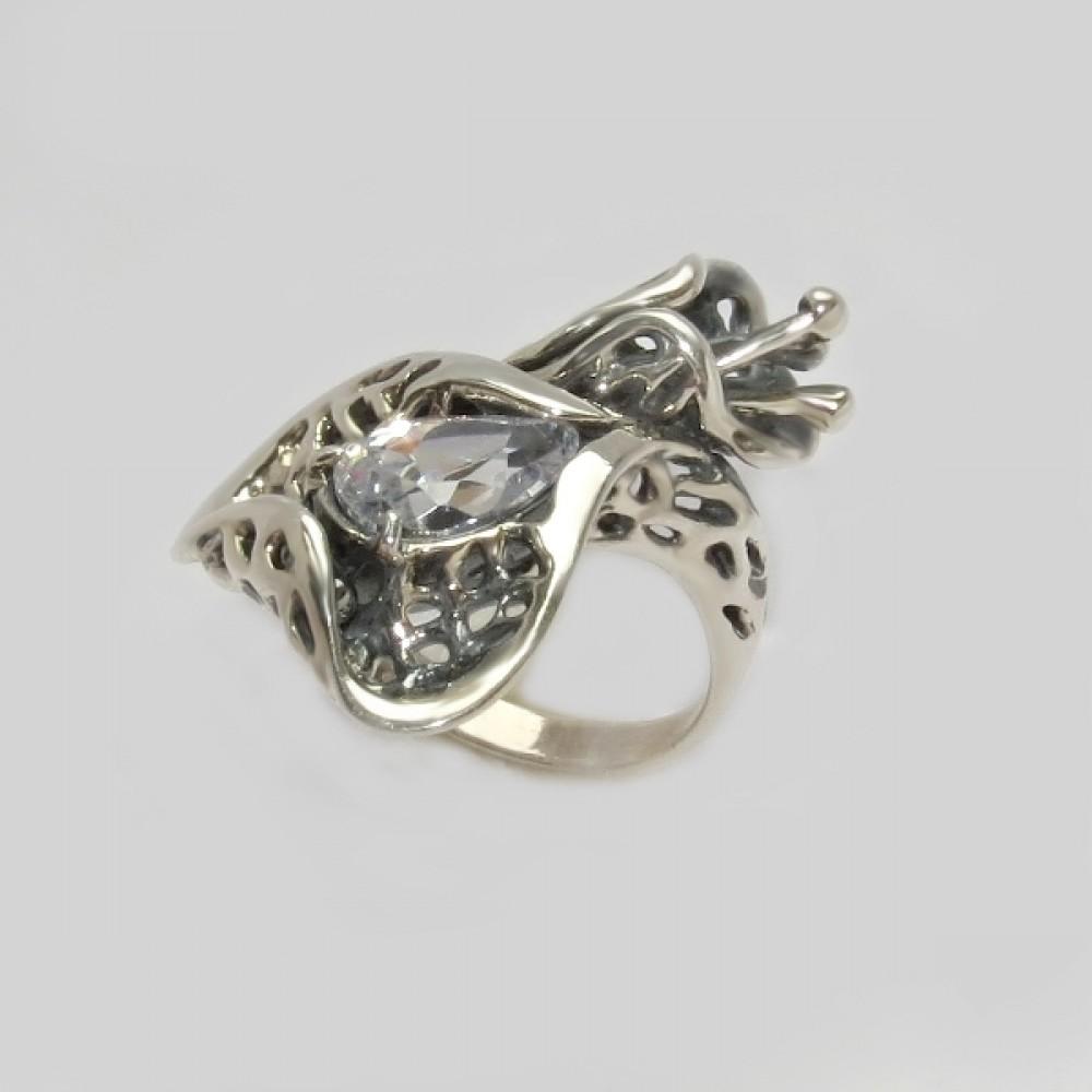 Серебряное кольцо бр-12230