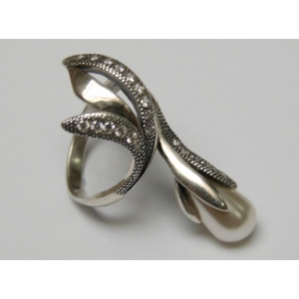 Серебряное кольцо бр-2170078