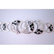 Срібний браслет бр-10185