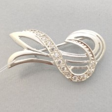 Серебряная брошь ШК-7008-1