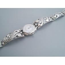 Серебряные часы бр-7100029