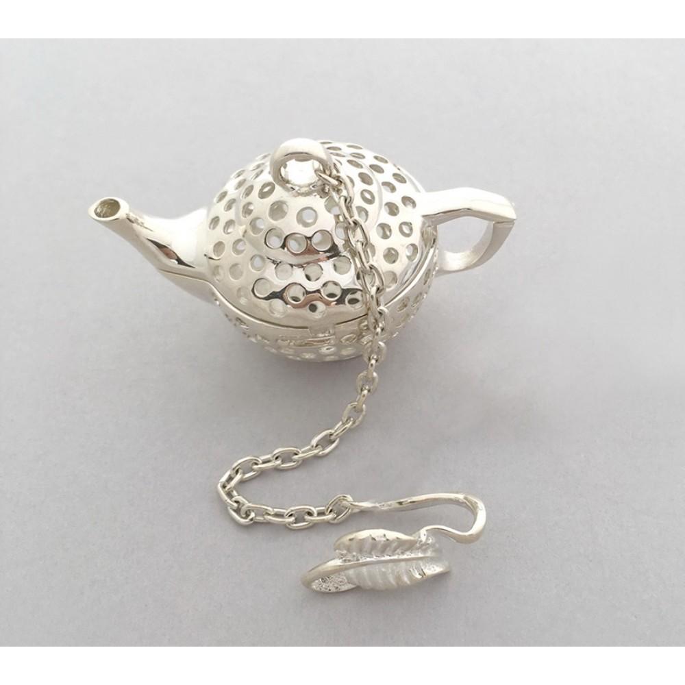 Серебряное ситечко для чая БР-0072631