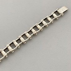 Срібний чоловічий браслет Байк БР-0065751