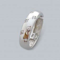 Серебряное кольцо с фианитами ЛС-1871р