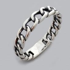 Срібний перстень у вигляді ланцюга ЛС-1877/1
