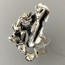 Серебряное дизайнерское кольцо Сон БР-0031321