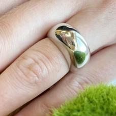 Серебряное гладкое кольцо ЛЗ-1050р