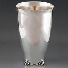 Серебряный стакан для воды ХЮ-080014