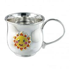 "Серебряная чашка ""Солнышко"" АГ-2.8.0151"