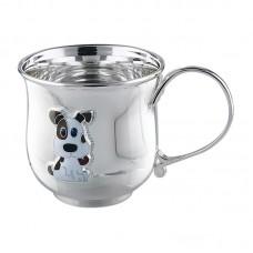 """Серебряная чашка """"Тузик"""" АГ-2.8.0152"""