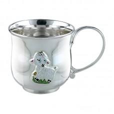 "Серебряная чашка ""Овечка"" АГ-2.8.0156"