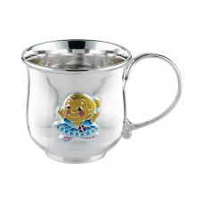 """Срібна чашка """"Балерина"""" АГ-2.8.0157"""