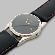 Серебряные мужские часы на ремешке БР-0005971