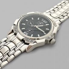 Серебряные мужские часы на браслете БР-0006571