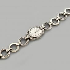 Срібний годинник жіночий бр-7110052